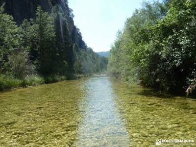Hoz del Río Escabas-Serranía de Cuenca;viajes programados por españa embalse madrid puente del pi